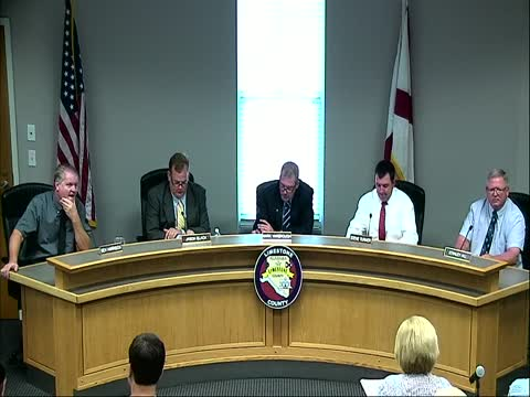 Commission Meeting - August 3, 2015